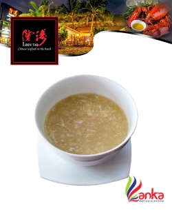 Sweetcorn Soup with Crab