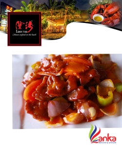 Deep Fried Beef with Sweet & Sour Sauce