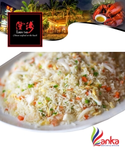 Yang Chow Fried Rice with Beef