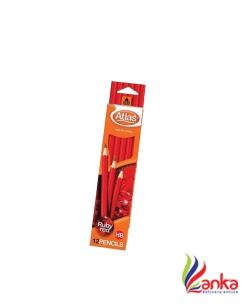 Atlas Ruby Red Imported Pencil