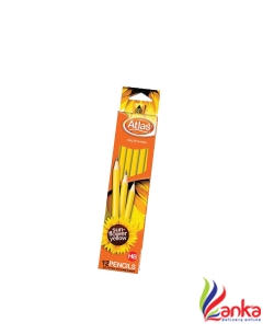 Atlas Sunflower Yellow Imported Pencil