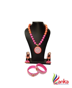 Orange With Lotus Pink Ring Jewellery