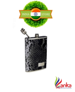 Anni Creation Snaky Stainless Steel Hip Flask