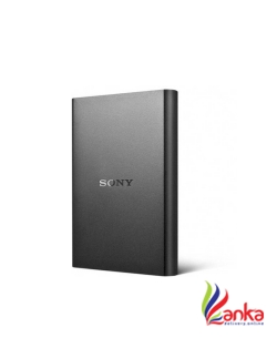 Sony 1 TB Wired External Hard Disk Drive  (Black)