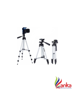 JMO27Deals Tripod-3110 40.2 Inch Portable Camera Tripod With Three-Dimensional Head & Quick Release Plate Tripod Tripod  (Black, Supports Up to 2000)