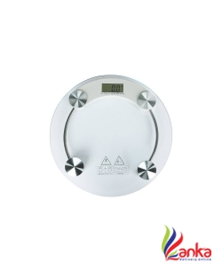 Zeom Digital Personal Bathroom Weighing Scale Machine LCD Display Weighing Scale  (White) Weighing Scale  (Transparent)
