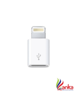 Roboster Micro USB to 8 Pin DataSync Charger Worldwide Adaptor  (White)
