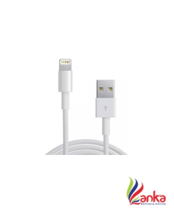 Apple MD818ZMA USB 1m Lightning Cable  (White)