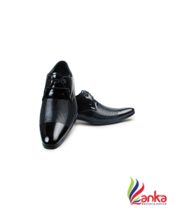 Bacca Bucci Lace Up For Men  (Black) Shoes