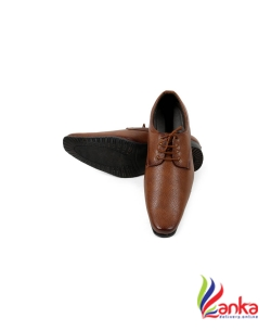 Footfad Lace Up For Men Shoe (Tan)