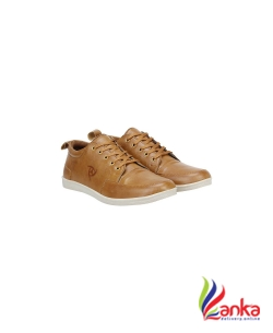 Knight Ace Look Sneakers For Men  (Tan)