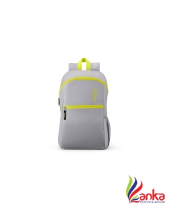 American Tourister AMT DASH SCH BAG 01 - GREY 19.5 L Backpack  (Yellow, Grey)