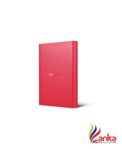Sony 1 TB External Hard Disk Drive  (Red)