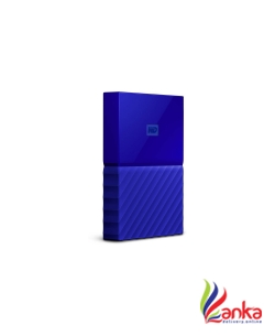 WD My Passport 1 TB Wired External Hard Disk Drive  (Blue)