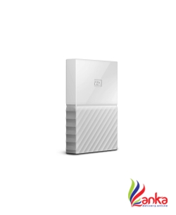 WD My Passport 1 TB Wired External Hard Disk Drive  (White)