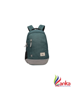 Gear Campus 8 24 L Backpack  (Green, Grey)