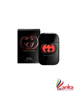GUCCI Guilty Black EDT - 75 ml  (For Women)