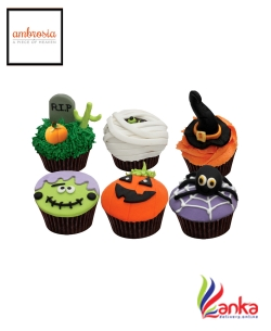 Halloween Mixed Cup Cake pack 1
