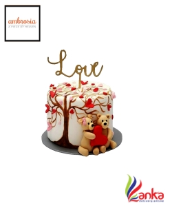 Teddy Love Cake