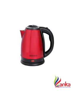 Blue Sapphire Stainless Steel Electric Kettle  (1.8 L, Red)