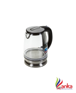Redmond RK-G127-E Electric Kettle  (1.7 L, Clear glass, Black, Blue illumination)