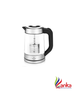 Maxstar EK01 Aqua Electric Kettle  (1.7 L, Black and Silver)