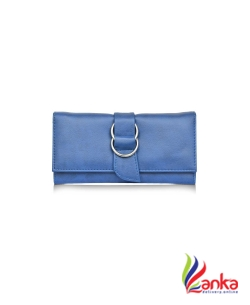 fantosy Women EveningParty, Casual Blue Artificial Leather Wallet  (9 Card Slots)