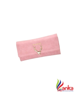 Elios Women Trendy Pink Artificial Leather Wallet  (11 Card Slots)