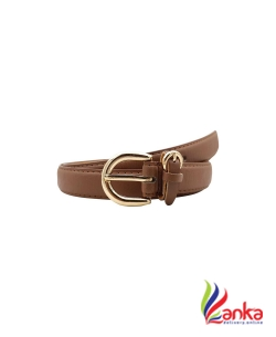 Baluchi Women Party, Casual Brown Artificial Leather Belt2