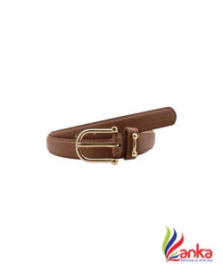 Baluchi Women Party, Casual Brown Artificial Leather Belt