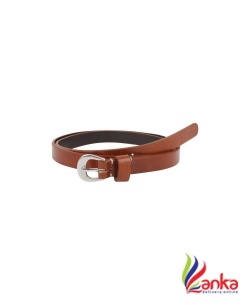 Aditi wasan Women Casual, Evening, Party Tan Genuine Leather Belt