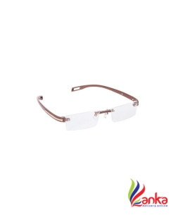 Gansta Rimless Rectangle Frame  (48 mm)