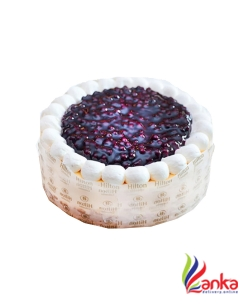 Cheese Cake with Blueberry Pie Filling