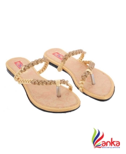 Airsoon Women Gold,Beige,Peach,Turquoise Flats