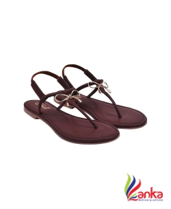 Jade Women Brown Flats