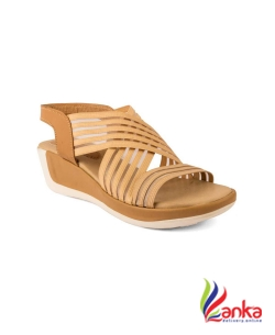 Cute Fashion Women Beige Wedges