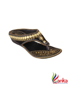 Beauty Craft Women Black Flats