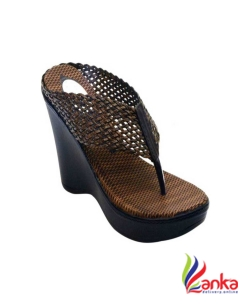 Anshu Enterprises Women Brown Wedges
