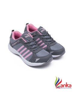 Asian Fashion-13 Grey Pink Walking Shoes,Gym Shoes,Casual Shoes,Training Shoes,Sports Shoes, Running Shoes For Women  (Grey, Pink)