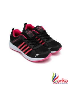 Asian Fashion-13 Black Pink Walking Shoes,Gym Shoes,Casual Shoes,Training Shoes,Sports Shoes, Running Shoes For Women  (Black, Pink)
