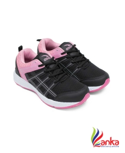 Asian Fashion-03 Black Pink Walking Shoes,Gym Shoes,Casual Shoes,Training Shoes,Sports Shoes, Badminton Shoes For Women  (Black, Pink)