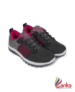 Asian Fashion-01 Grey Pink Walking Shoes,Gym Shoes,Casual Shoes,Training Shoes,Sports Shoes, Running Shoes For Women  (Multicolor)