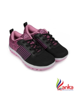 Asian Fashion-01 Black Pink Walking Shoes,Gym Shoes,Casual Shoes,Training Shoes,Sports Shoes, Running Shoes For Women  (Black, Pink)