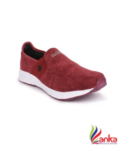Action Walking Shoes For Women  (Maroon)