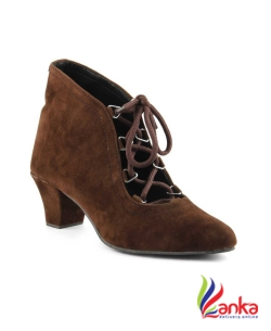 Cute Fashion Boots For Women  (Brown)