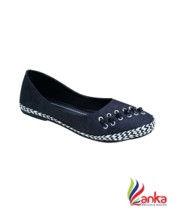 Remson India Bellies For Women  (Blue, White)