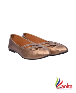 Jade Double X Bellies For Women  (Brown)