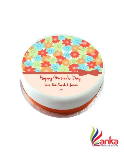 Flower Mothers Day Cake
