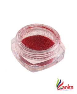 DALUCI Shinning Mirror Nail Glitter powder  (Red)