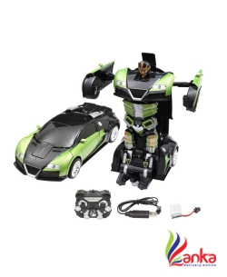 Miss & Chief Bugatti Transformer RC car  (Green)
